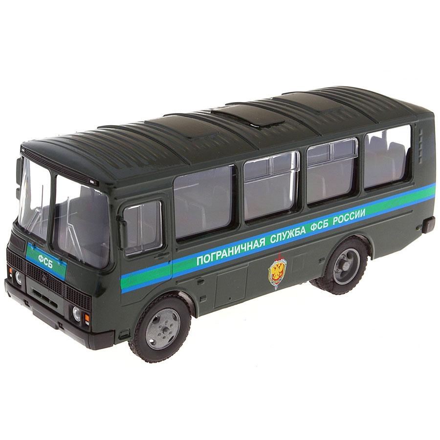 Машинка Autotime ПАЗ-32053 пограничная служба ФСБ 1:43<br>
