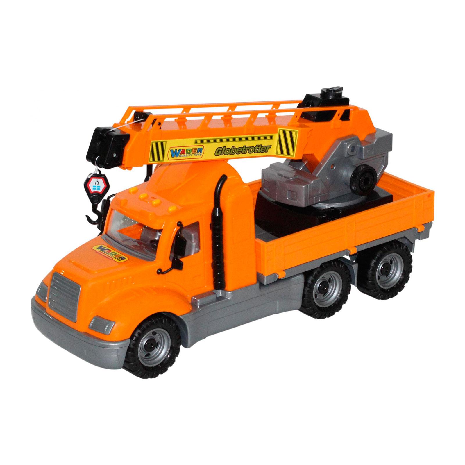 Автомобиль-кран Wader Майк с поворотной платформой в сеточке 55613<br>