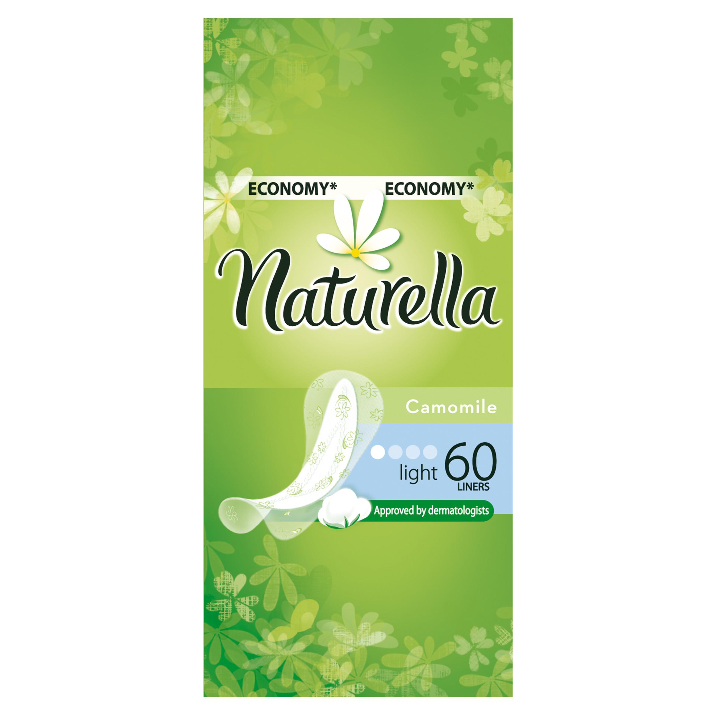 Прокладки гигиенические Naturella ежедневные Light Camomile 60Шт.<br>