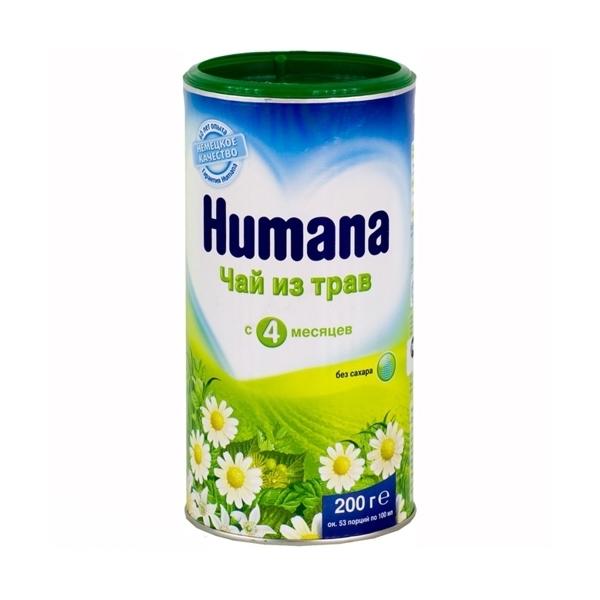Чай детский Humana 200 гр Травяной (с 4 мес)<br>