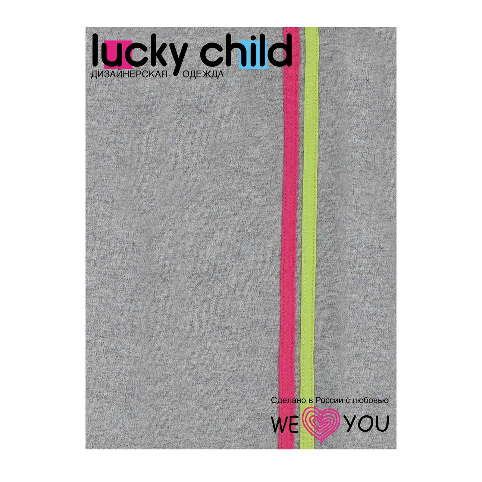 Штанишки Lucky Child, коллекция Спортивная линия, для девочки размер 68
