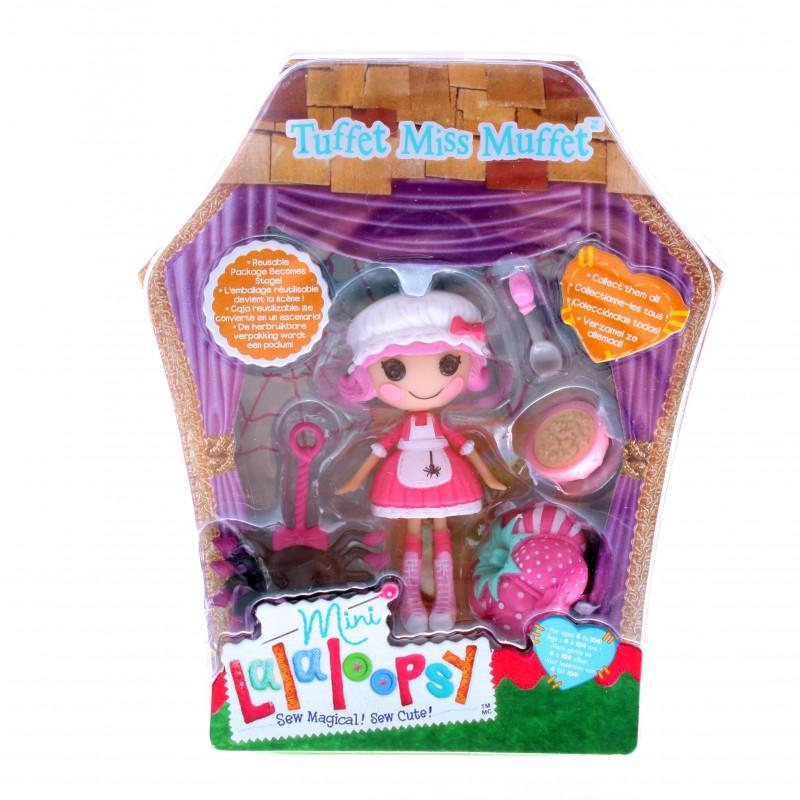 Кукла Mini Lalaloopsy с аксессуарами Tuffet Miss Muffet