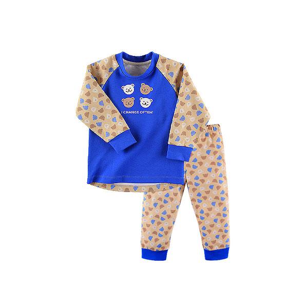 Пижама Наша Мама для мальчика рост 98 синий<br>