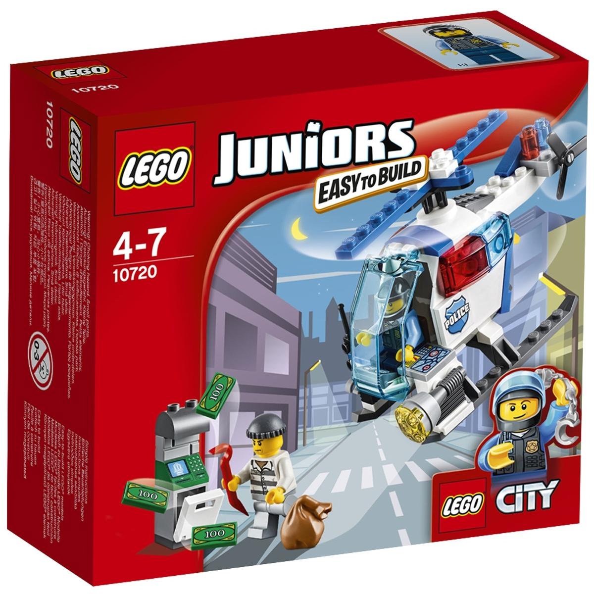 Конструктор LEGO Junior 10720 Погоня на полицейском вертолете<br>