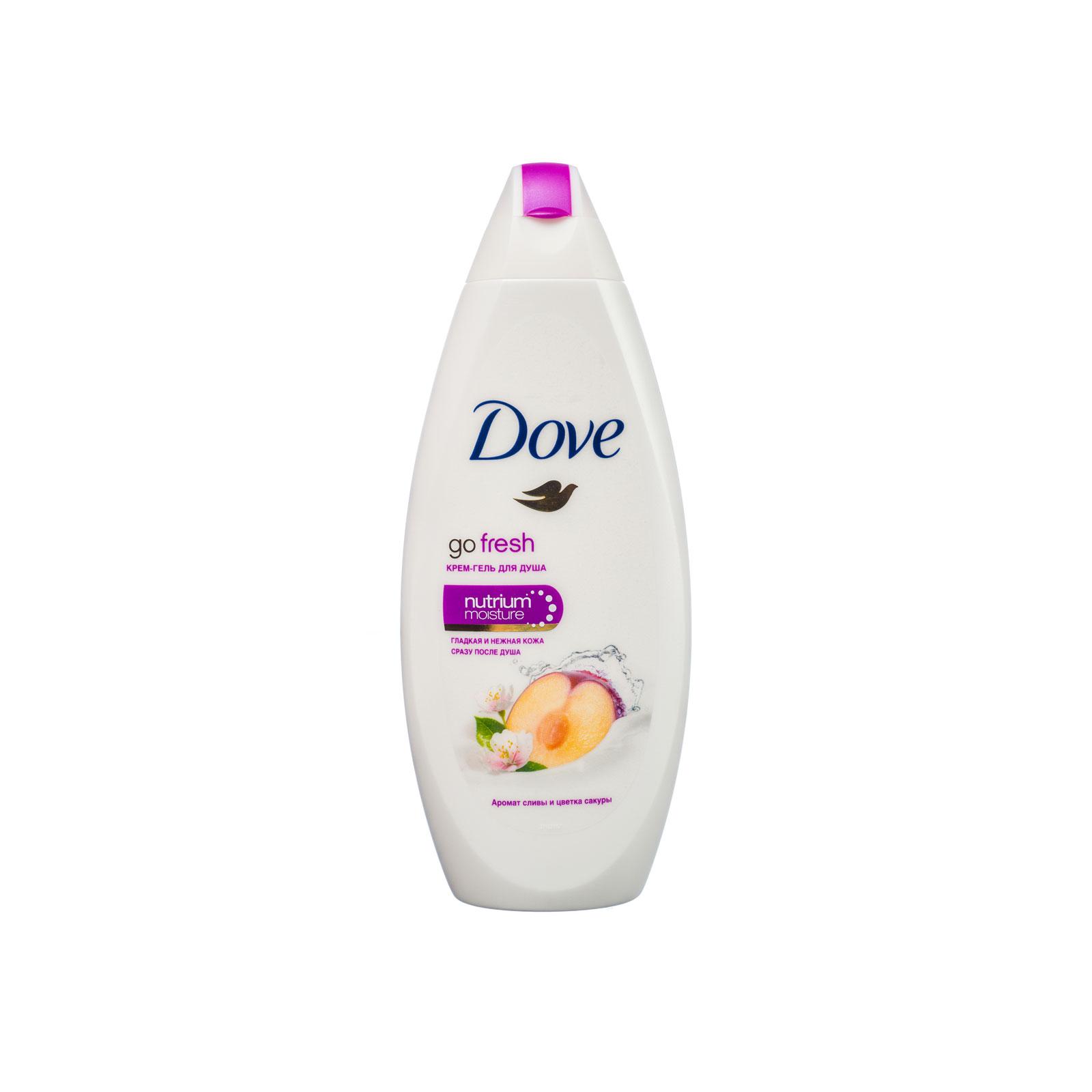 Крем-гель для душа Dove слива и цветы сакуры 250 мл<br>