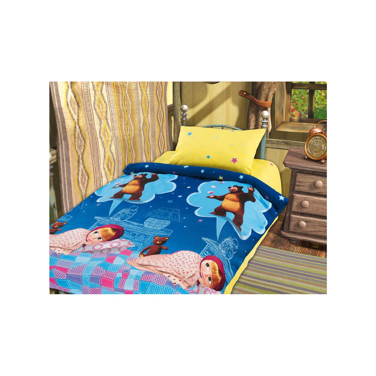 Комплект постельного белья детский хлопок Непоседа Маша и Медведь Машин сон<br>