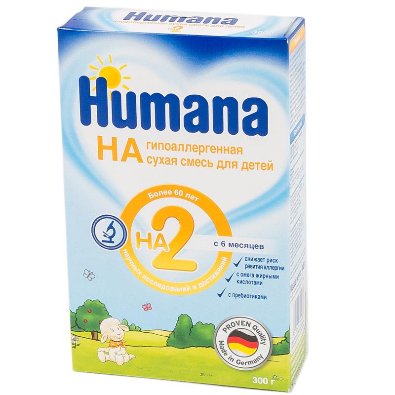 Заменитель Humana HA 300 гр №2 (с 6 мес)<br>