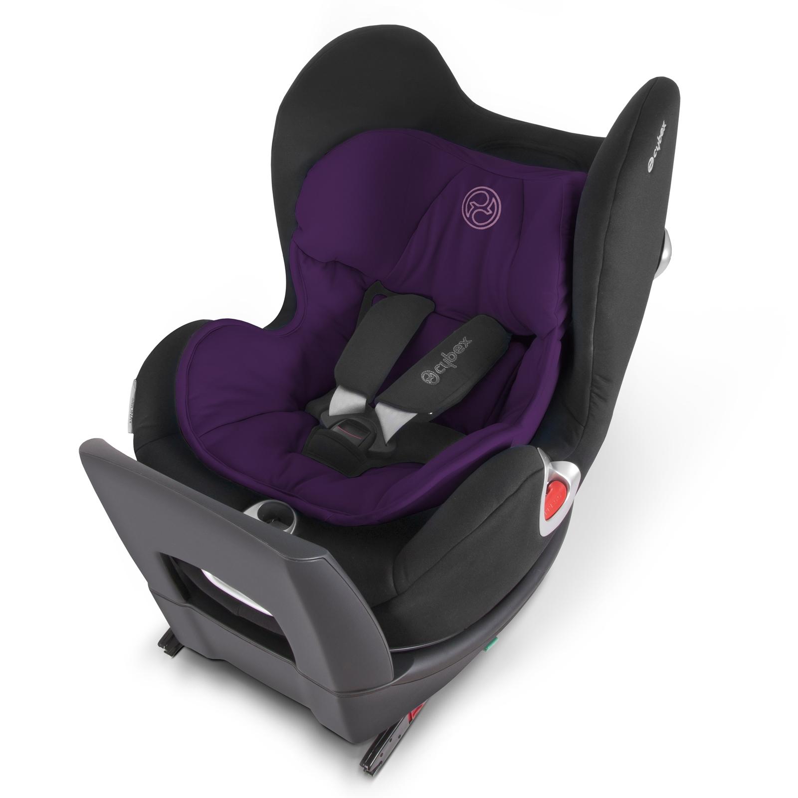 Вкладыш для новорожденного Cybex в автокресло Sirona Violet Spring