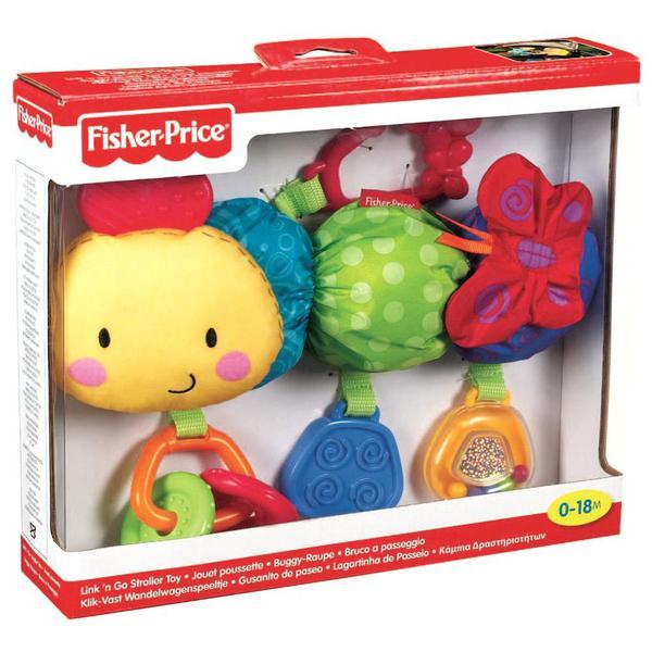 Развивающая игрушка Fisher Price подвеска Гусеница