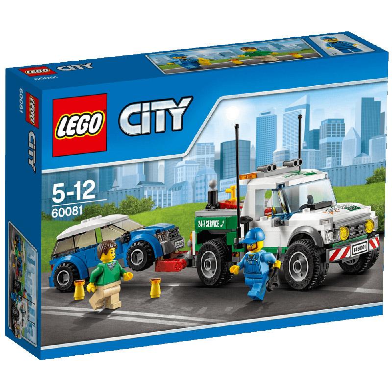 Конструктор LEGO City 60081 Буксировщик автомобилей<br>