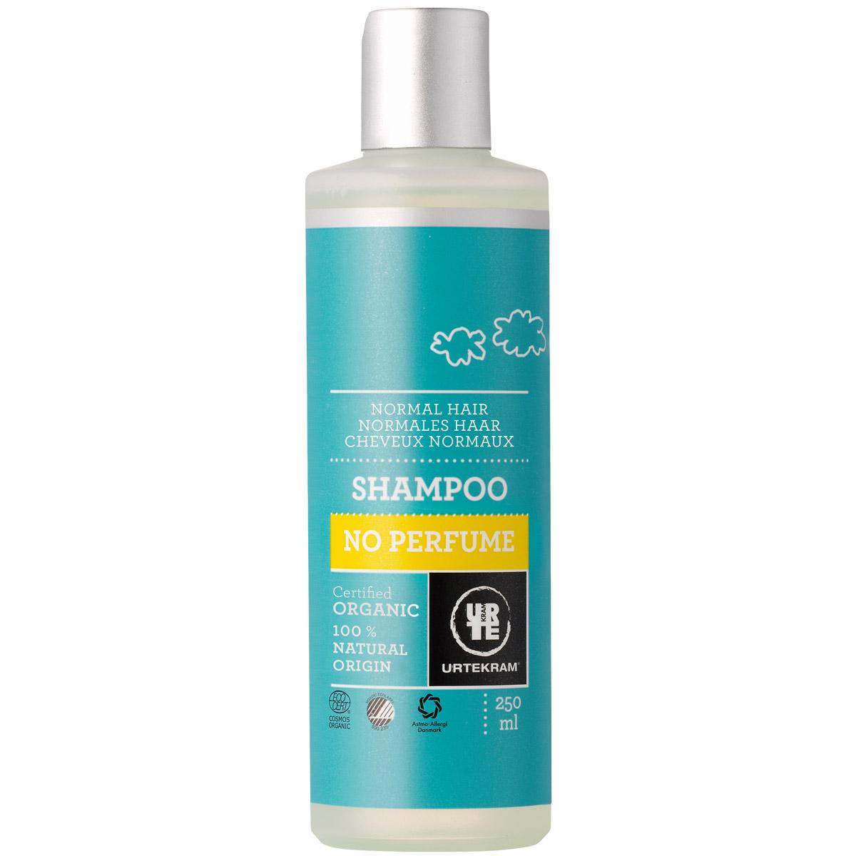 Шампунь для нормальных волос Urtekram без аромата  250 мл<br>