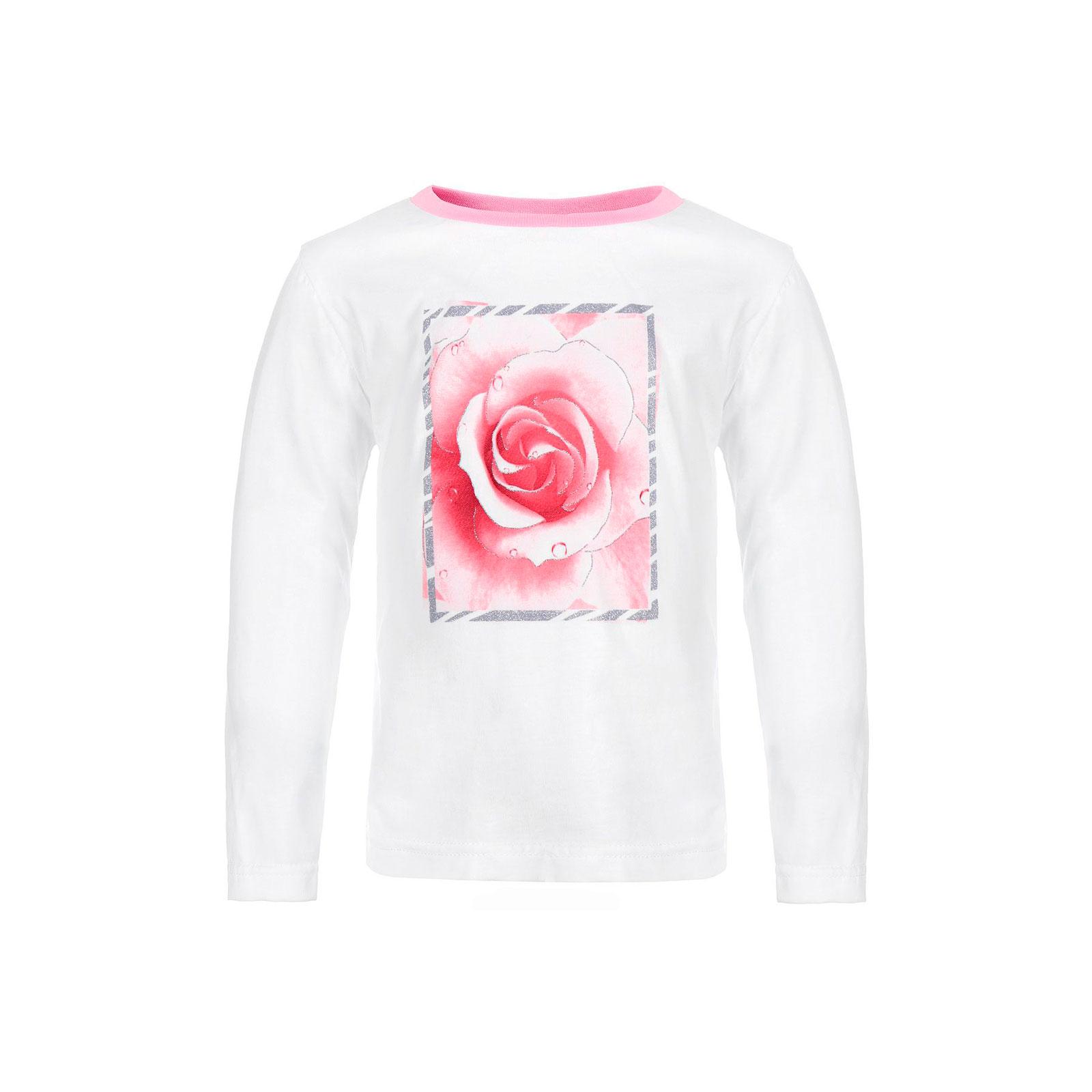 Джемпер Котмаркот Розы рост 98 белый<br>