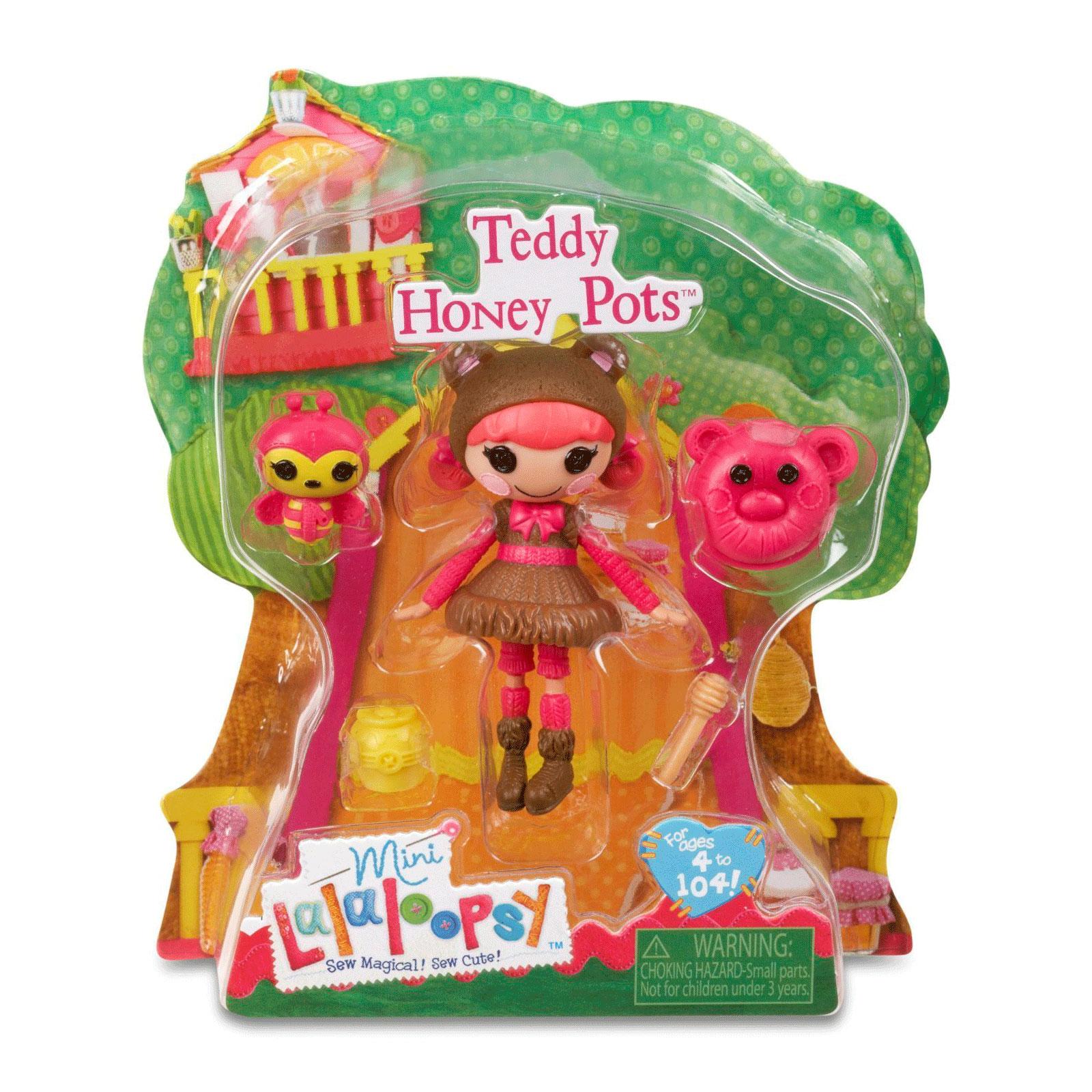 Кукла Mini Lalaloopsy с аксессуарами Teddy Honey Pots