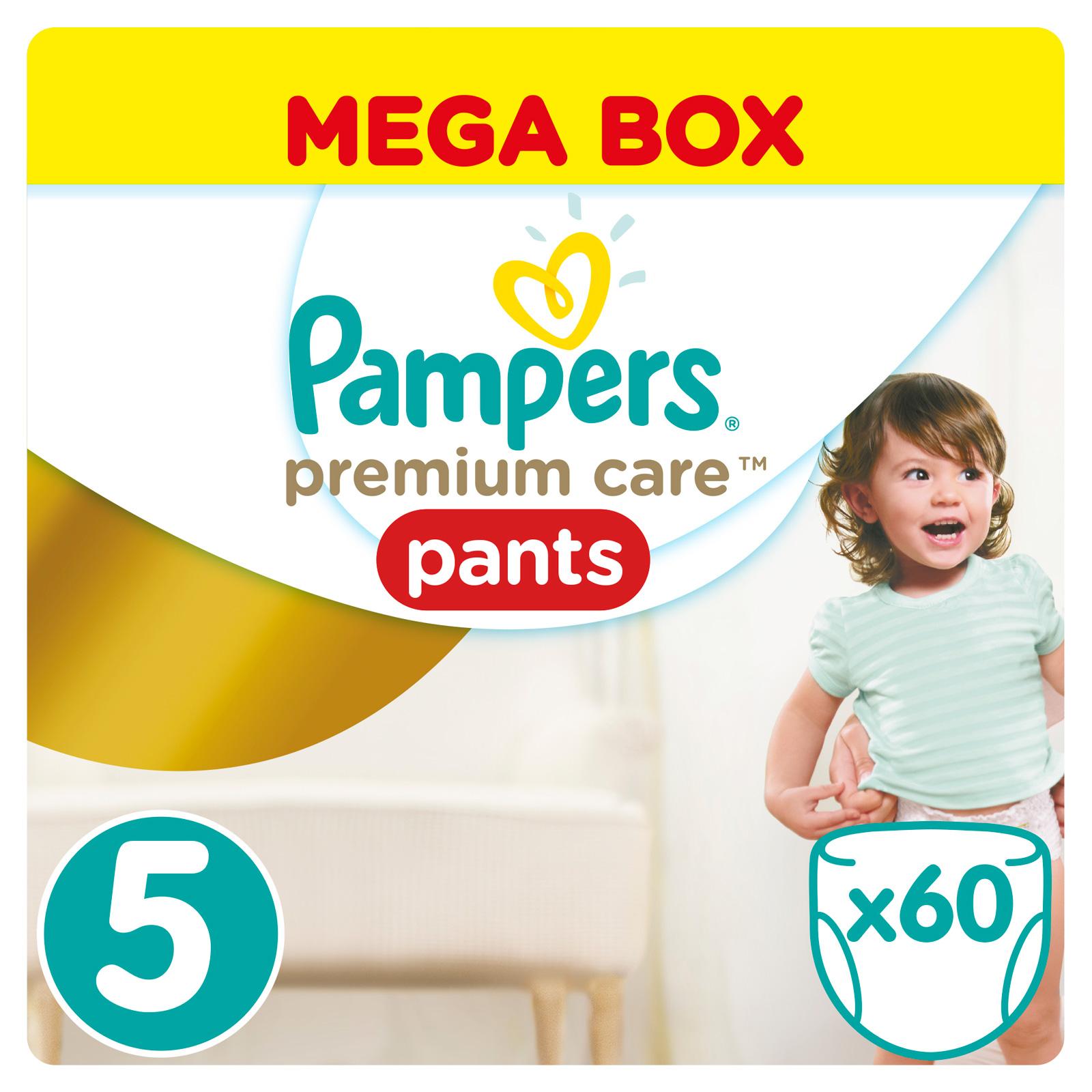 Трусики Pampers Premium Care 12-18 кг (60 шт) Размер 5<br>