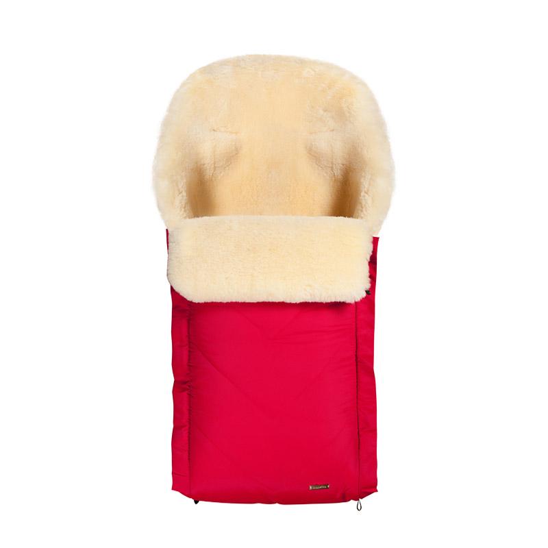 Конверт Mansita Toscana овчина Красный<br>