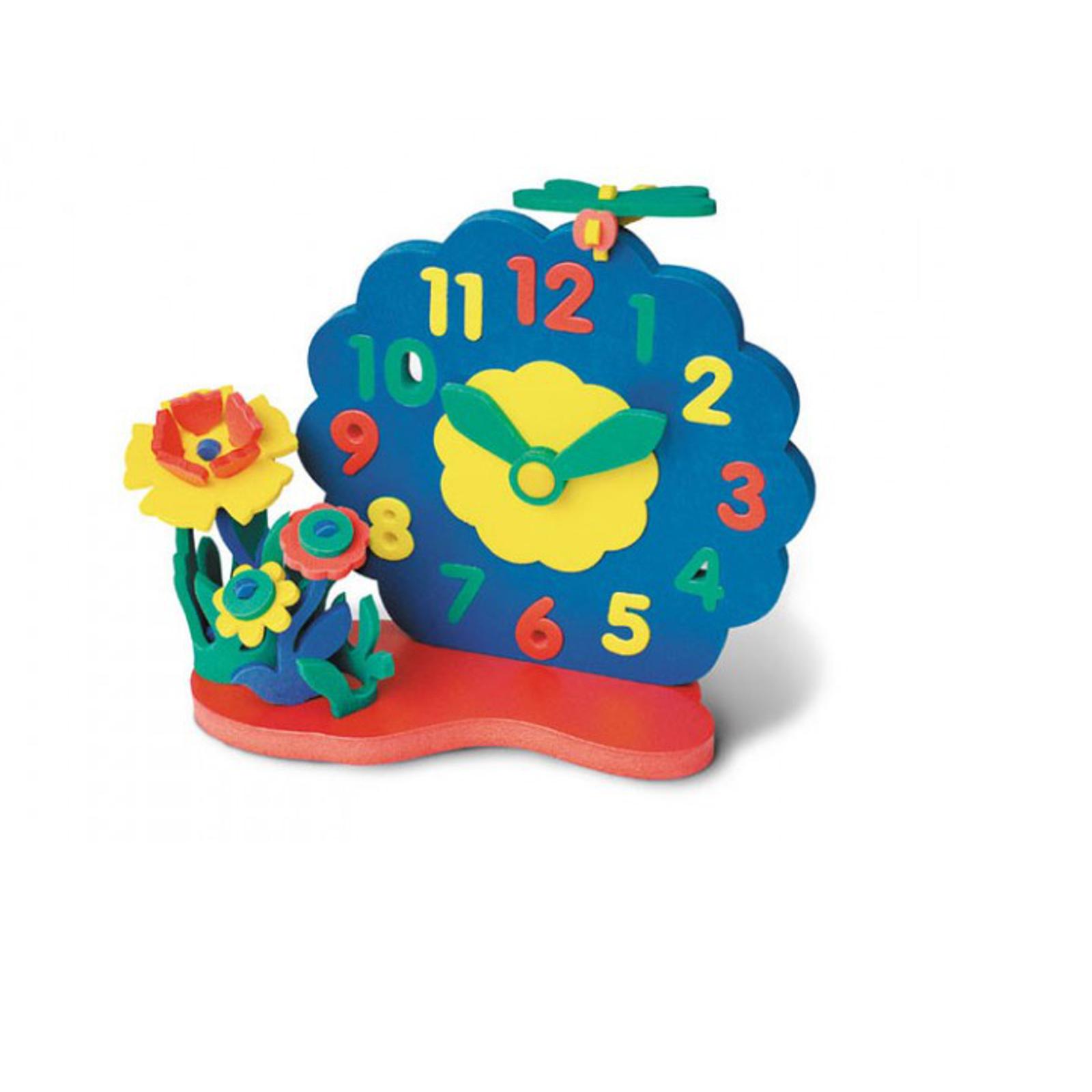 Развивающая игрушка Флексика Часы Цветы<br>