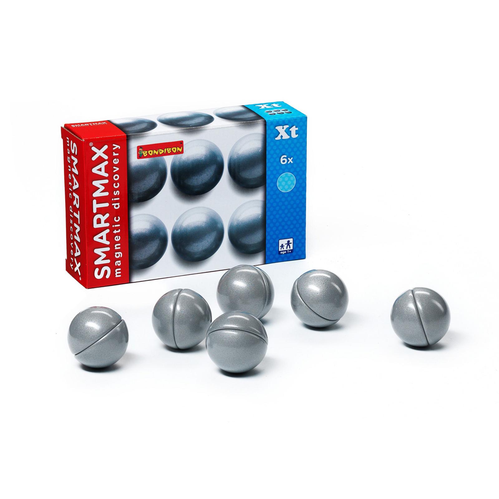 Дополнители магнитных конструкторов Bondibon Набор 6 шаров<br>