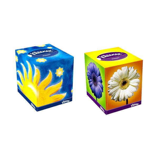 �������� �������� Kleenex CLASSIC 2-� ������� 50 ��