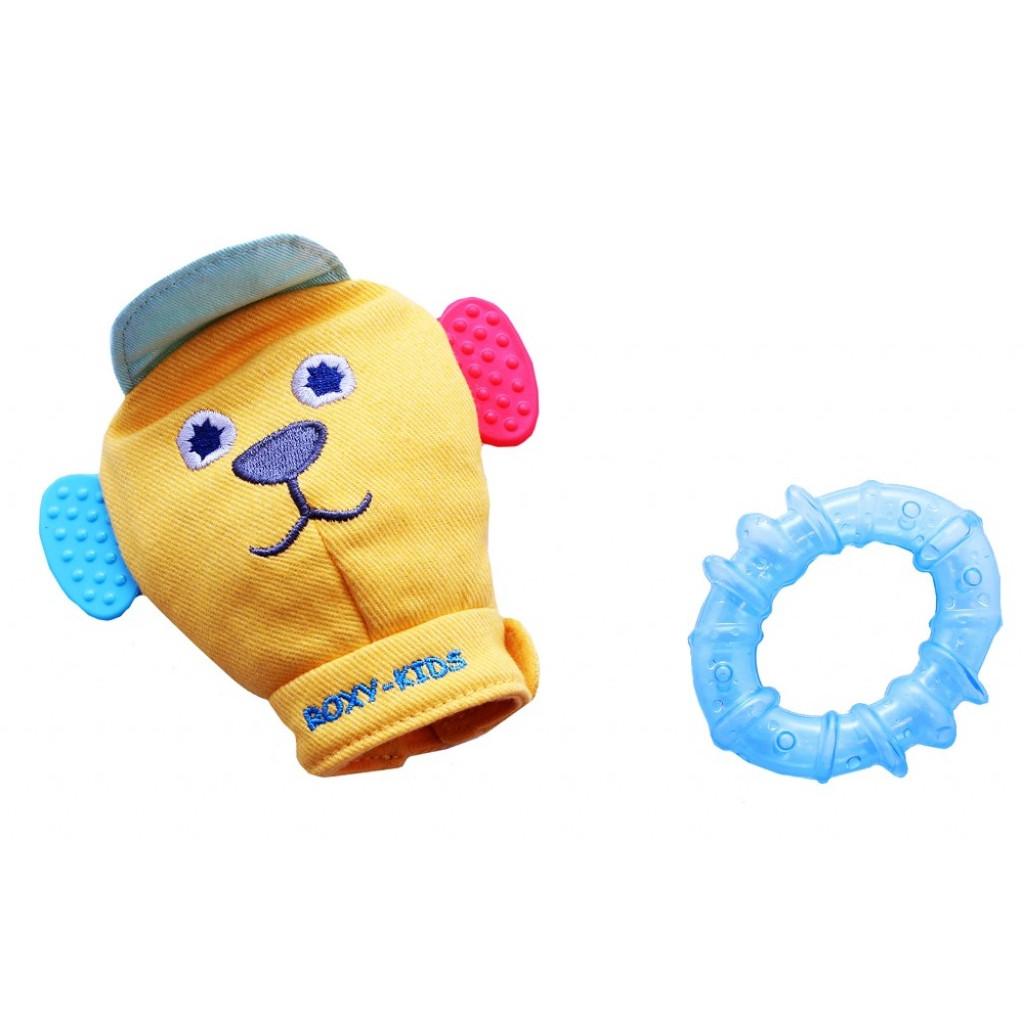 Игрушка рукавичка Roxy-kids Вуффи, голубая<br>