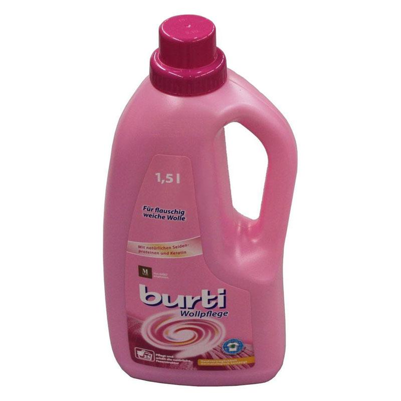 Жидкое средство Burti Бурти для стирки 1,5 л Для шерсти<br>