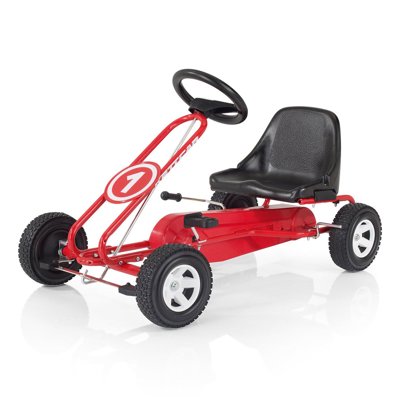 Педальная машина Kettler Кетткар Spa Красная<br>