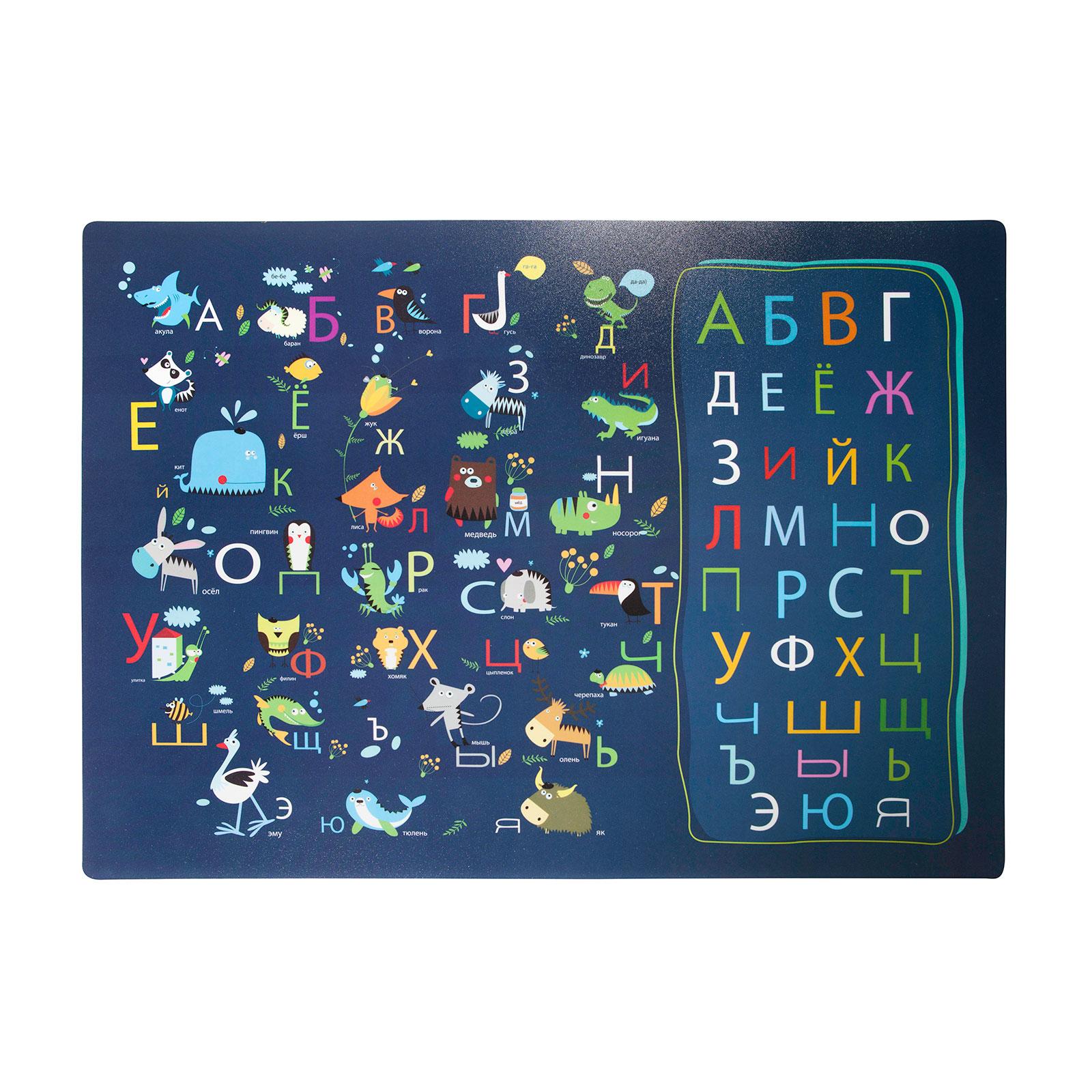 Настольное покрытие Silwerhof 330х460мм Русский алфавит<br>