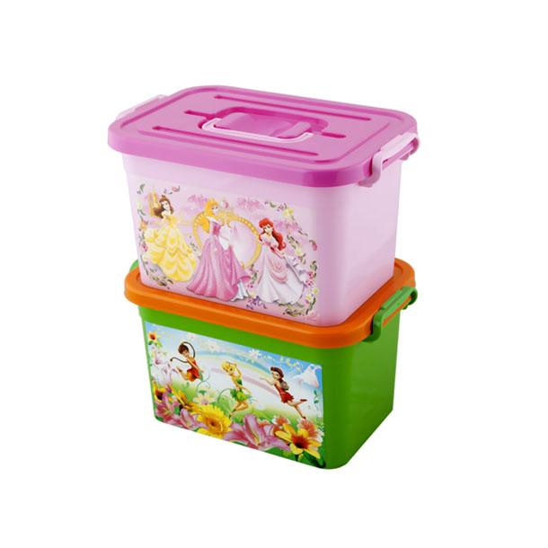 Ящик для игрушек ОКТ Disney Принцессы Феи 6.5л<br>