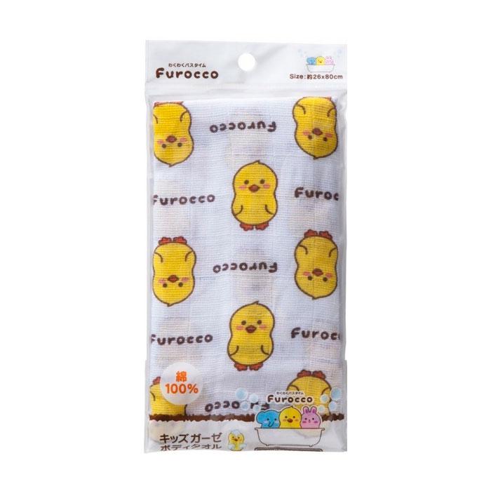 Мочалка марлевая Kokubо Furocco Желтый Утенок<br>