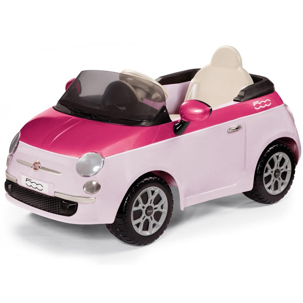 Электромобиль Peg-Perego FIAT 500 Розовый<br>