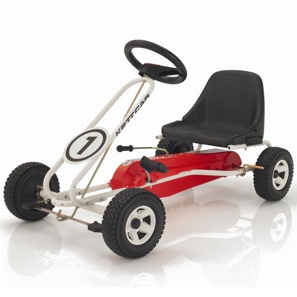 Педальная машина Kettler Кетткар Spa Белый<br>