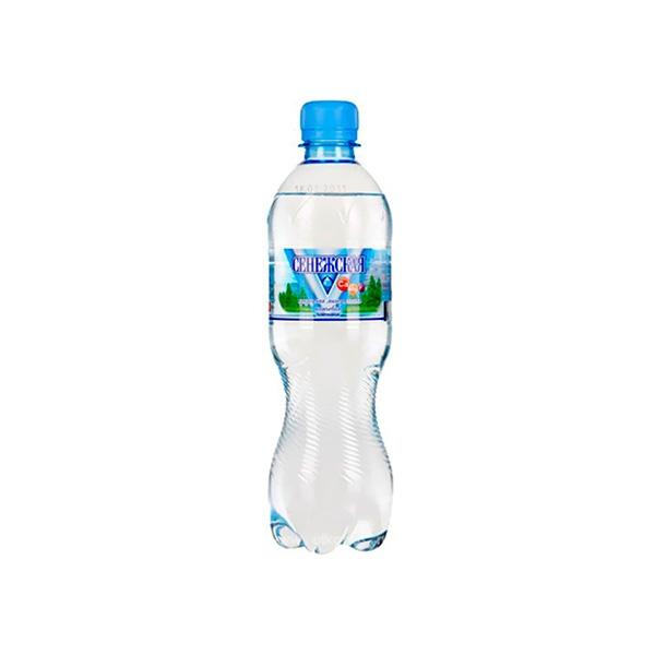 Вода минеральная Сенежская 0,5 л газированная