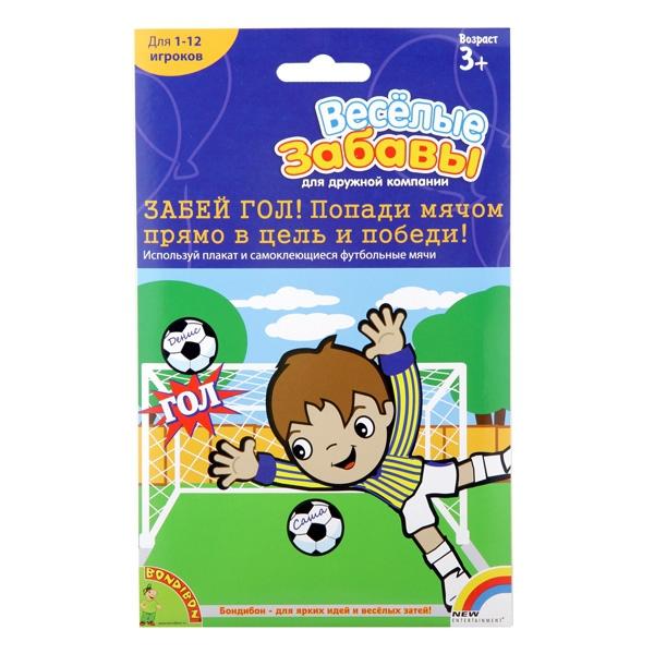 Настольная игра Bondibon Весёлые забавы: забей гол!