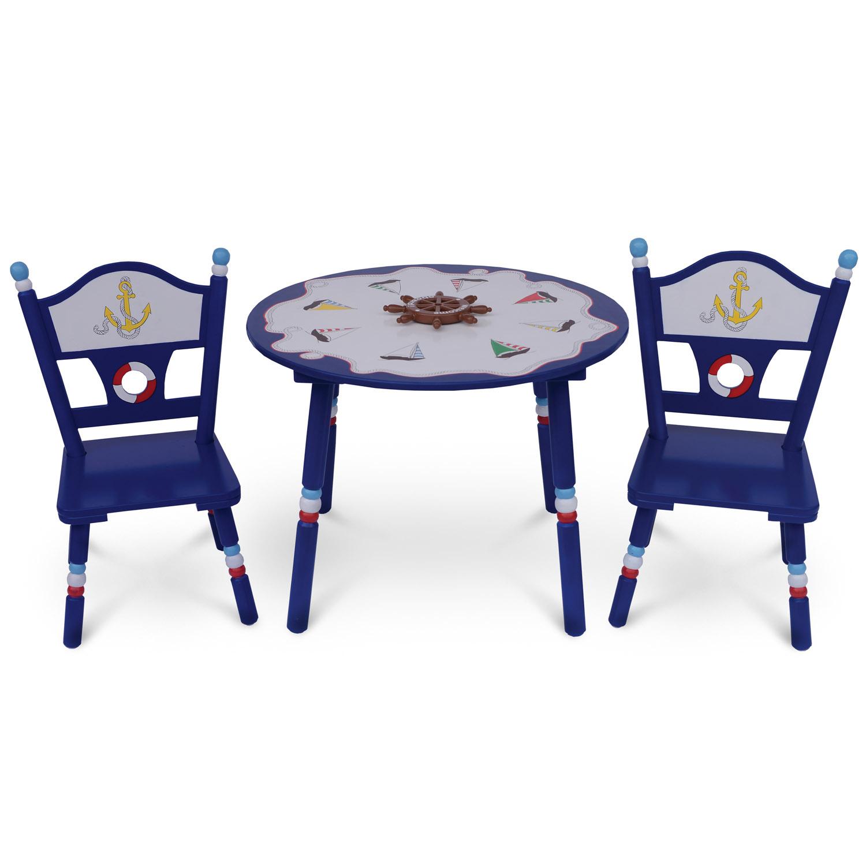 Комплект из стола и двух стульев Major-Kids Little Captain<br>