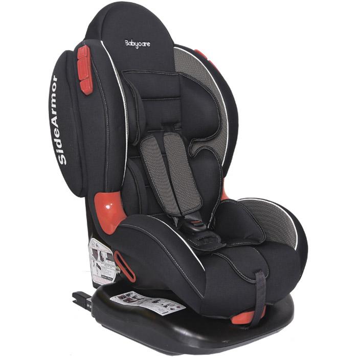 Автокресло Baby Care BC-02 ISOFIX Люкс Карбон Черный<br>