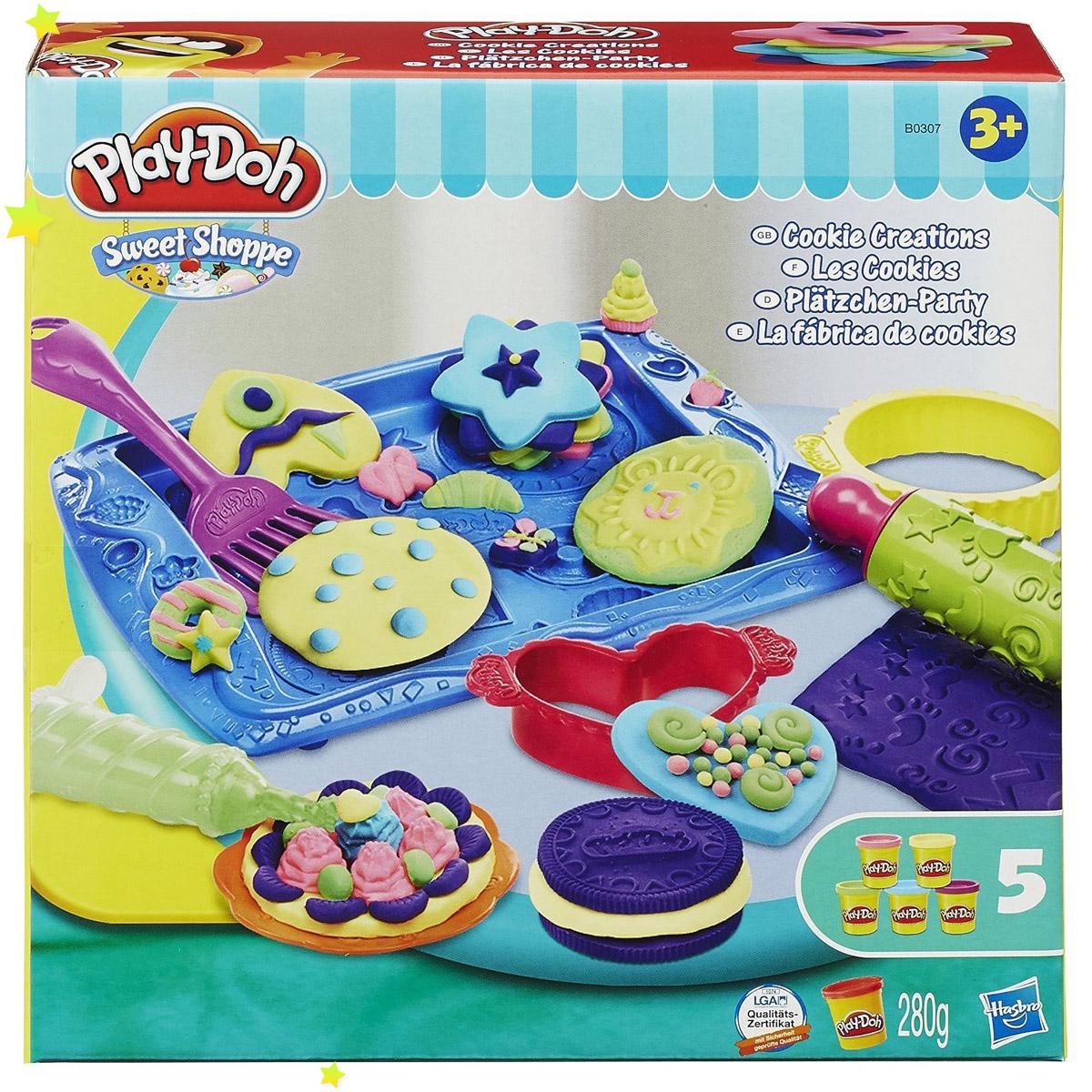 Игровой набор Play-Doh Магазинчик печенья<br>