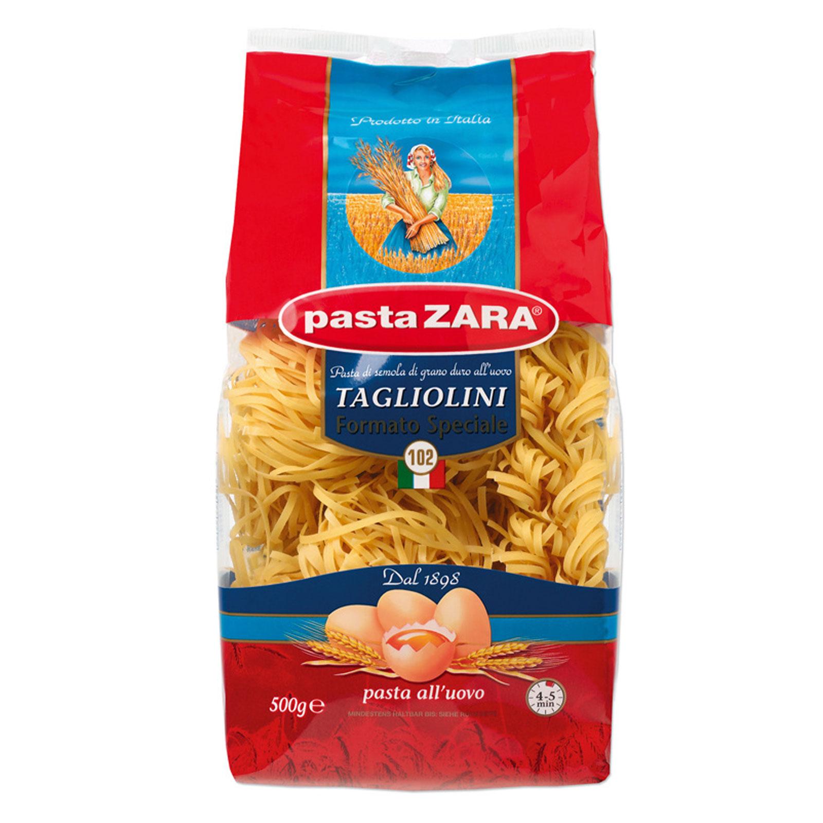 Макаронные изделия Pasta Zara Пастра Зара 500 гр. Клубки яичные