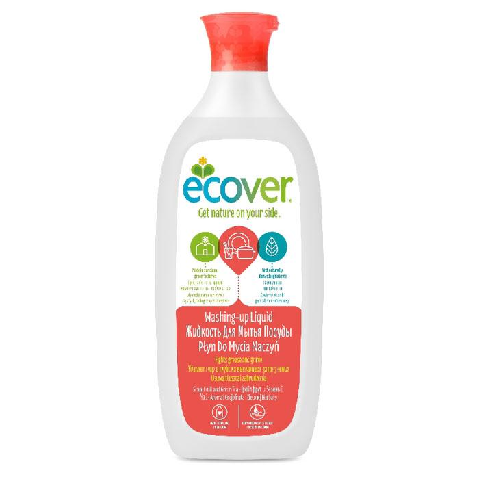Средство для мытья посуды Ecover 500 мл. Грейпфрут и зеленый чай<br>