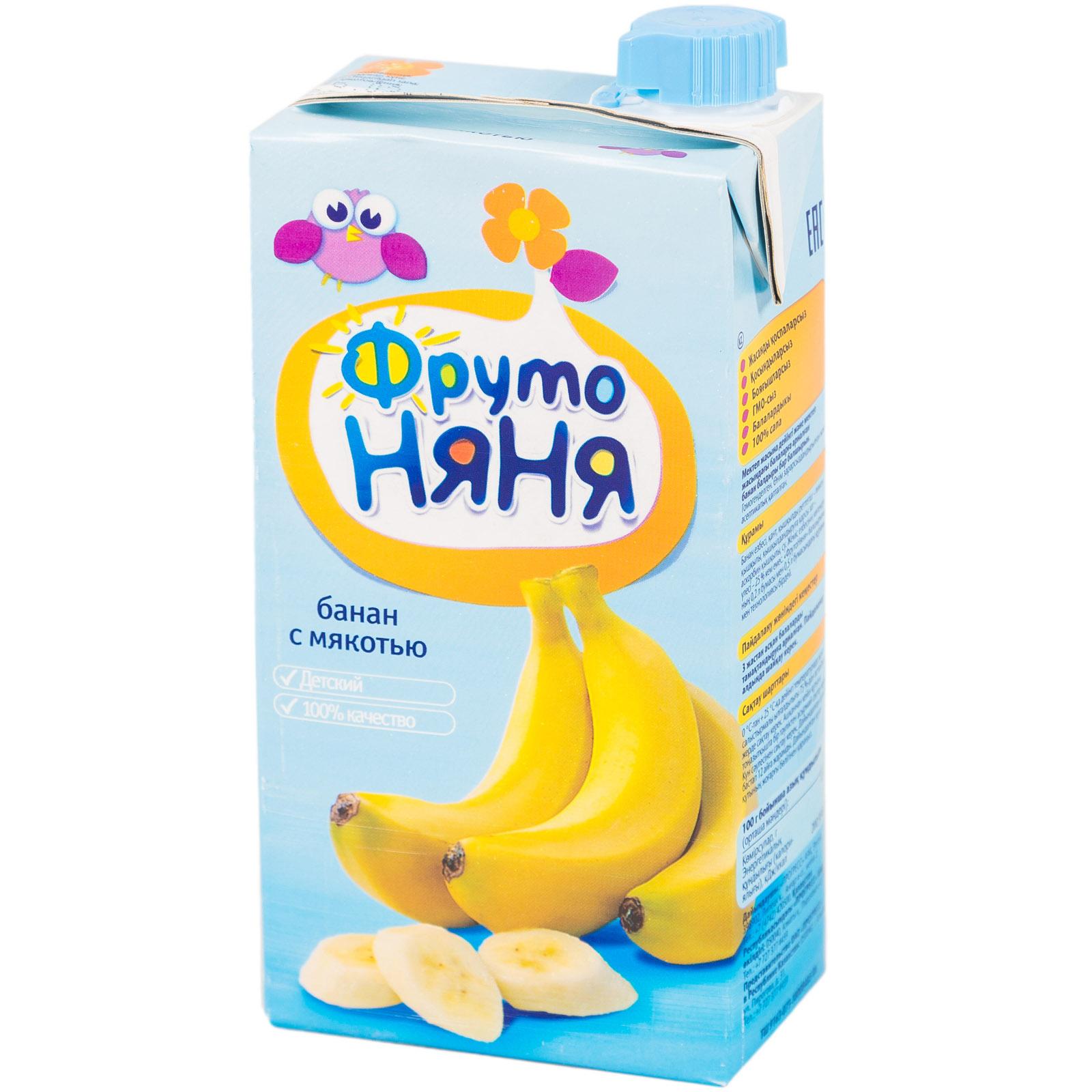 Сок Фрутоняня 500 мл Банан с мякотью (с 3 лет)<br>