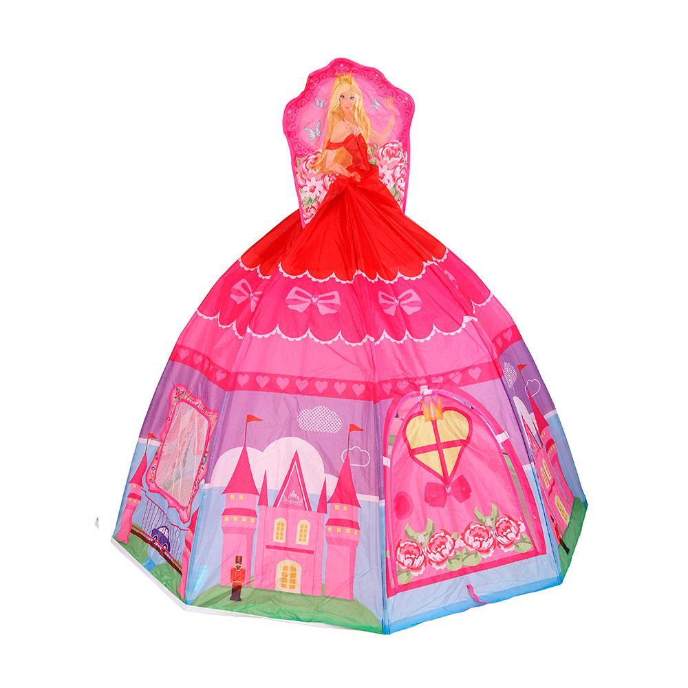 Игровой Дом Calida Принцесса розовая + 100 шаров<br>