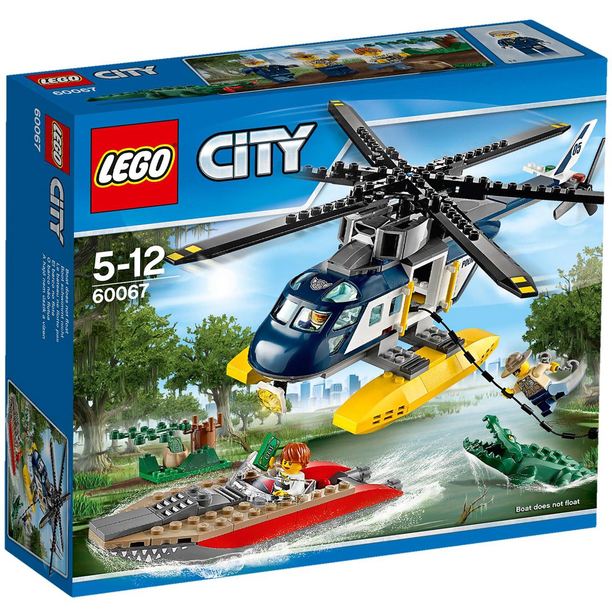 Конструктор LEGO City 60067 Погоня на полицейском вертолете<br>