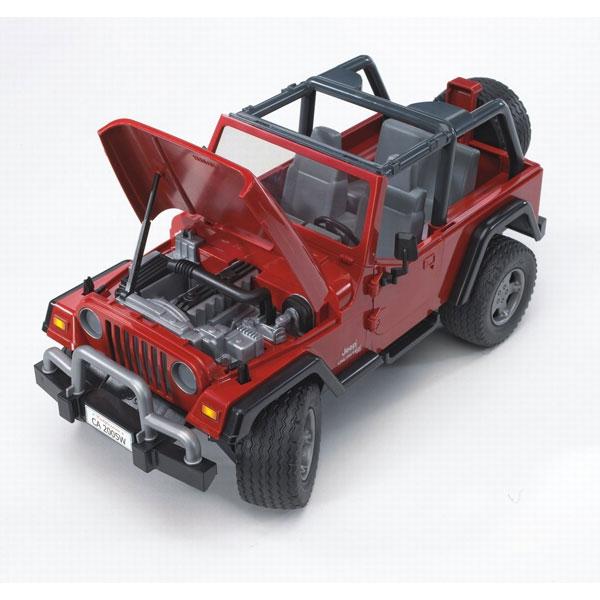 ����������� Bruder Jeep Wrangler � ��������-����������
