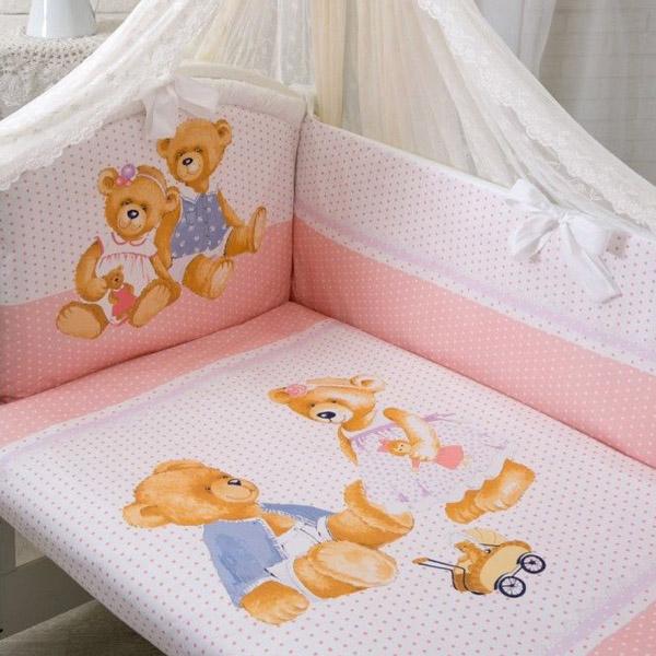 Комплект Золотой Гусь Sweety Bear Розовый<br>