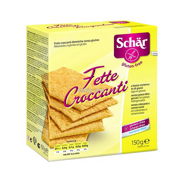 Хлебцы Dr. Schar Fette Сroccanti 150 гр<br>