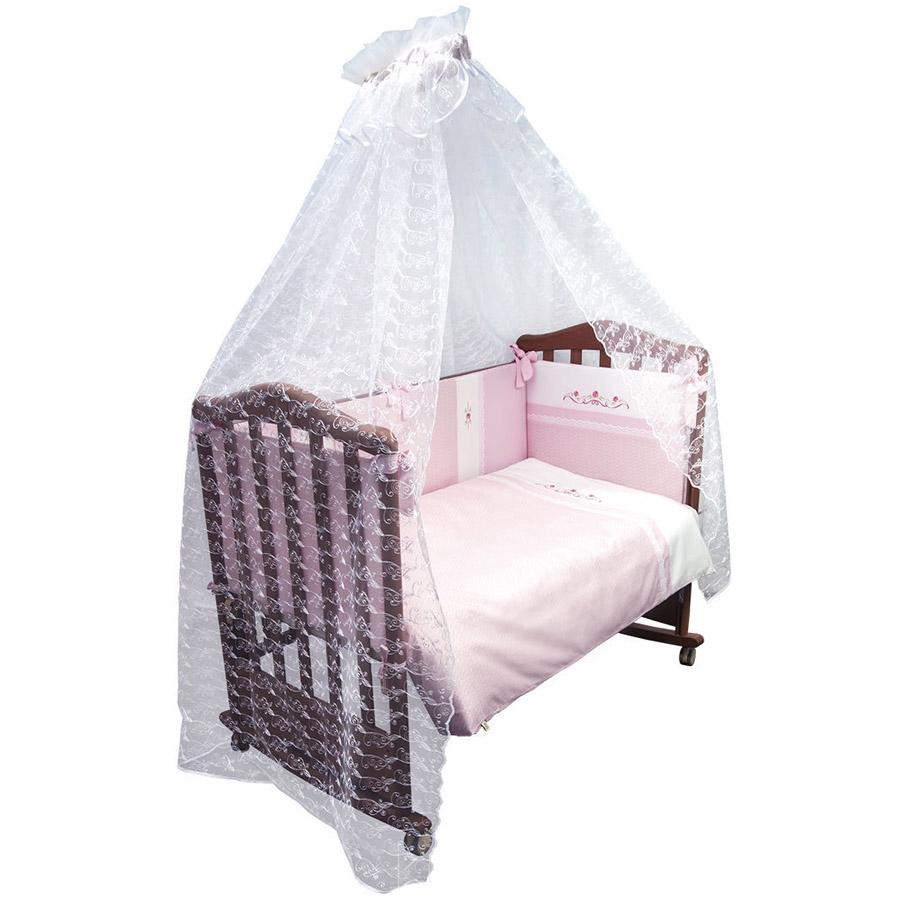 Комплект в кроватку Сонный гномик Прованс Розовый<br>