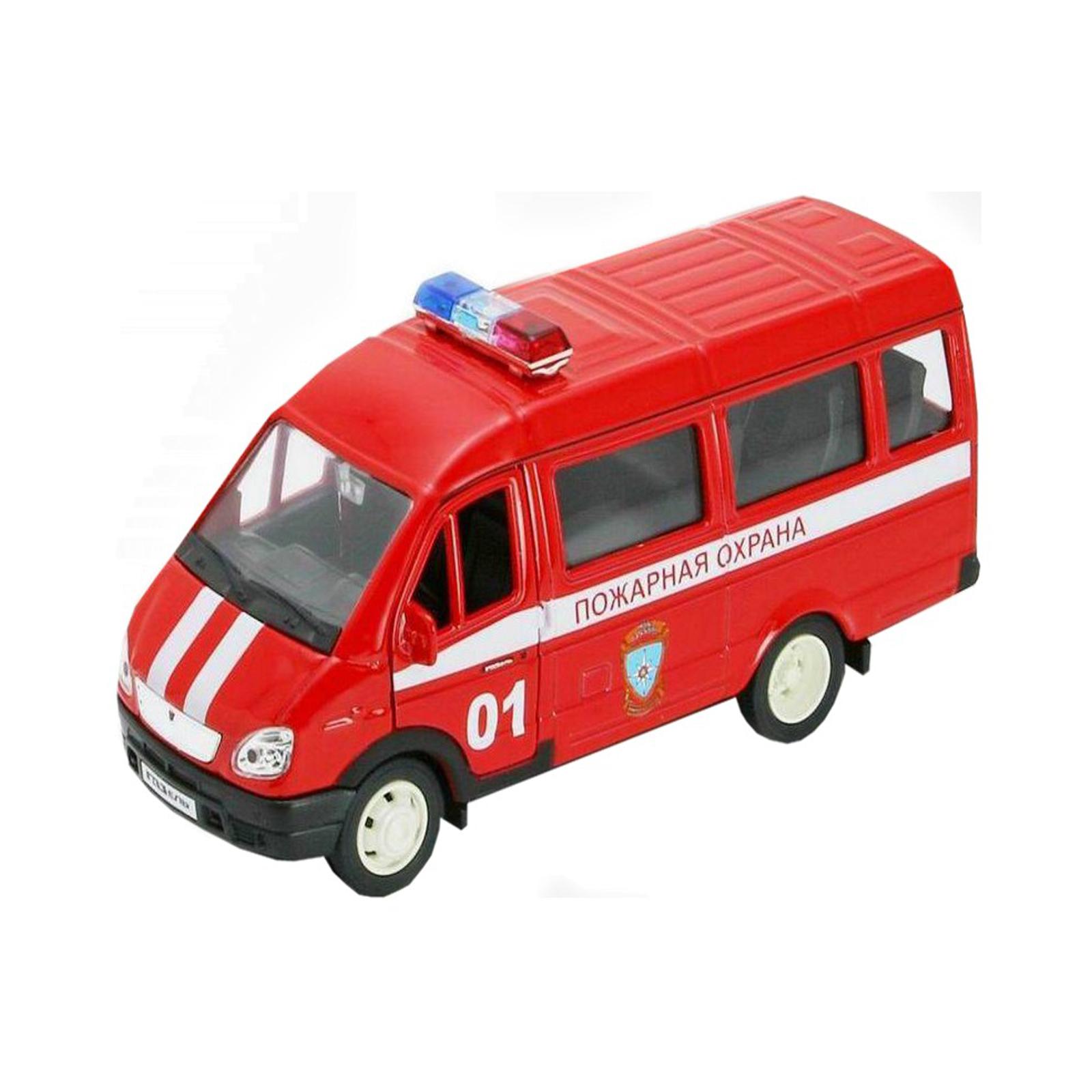 Машинка Welly ГАЗель Пожарная охрана<br>