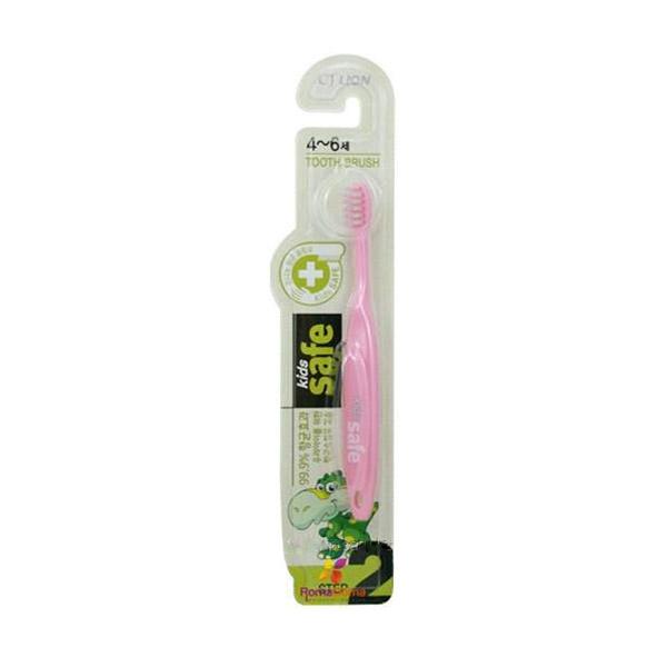 Зубная щетка CJ Lion Kids Safe с нано-серебряным покрытием №2