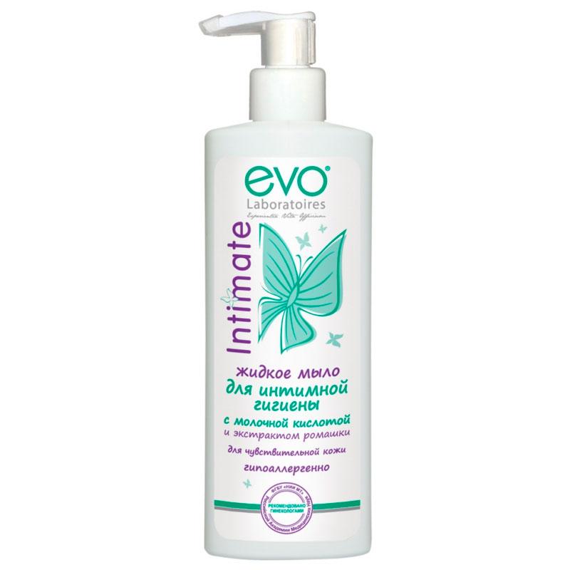 Жидкое мыло для интимной гигиены EVO с экстрактом ромашки 200 мл<br>