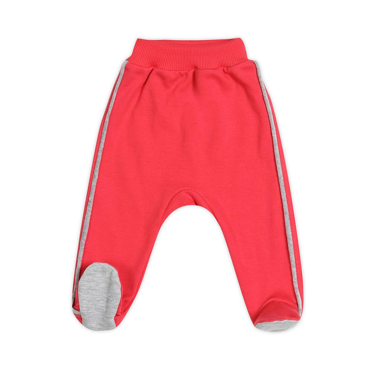 Ползунки с ножками Ёмаё Спорт (26-265) рост 56 ярко-розовый<br>