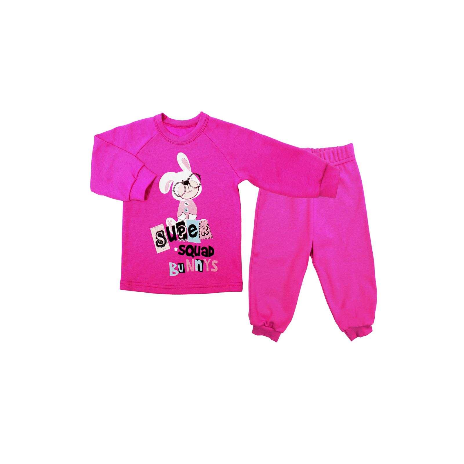 Комплект Бимоша для девочки: джемпер+брюки, цвет фуксия 12-18 мес.