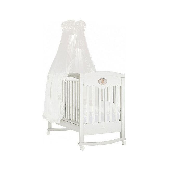 Кроватка Feretti Enchant Dondolo качалка Bianco/White<br>